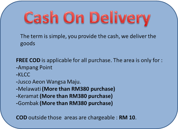 SNE CASH ON DELIVERY